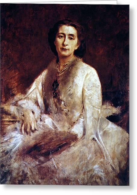 Cosima Wagner (1837-1930) Greeting Card