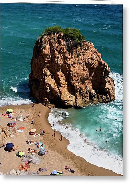 Costa Brava Greeting Card