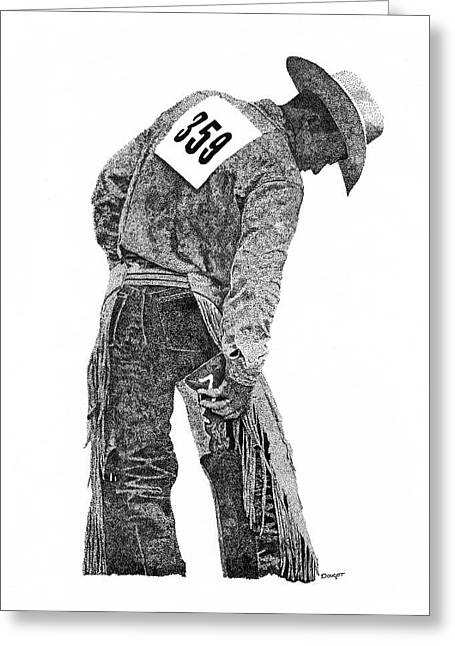 Cowboy 1 Greeting Card
