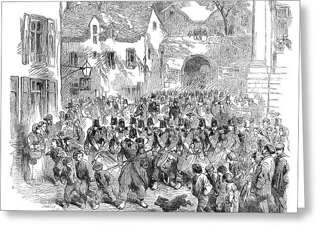 Crimean War, 1854 Greeting Card