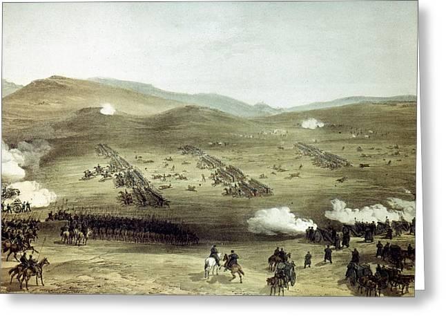 Crimean War Balaclava Greeting Card