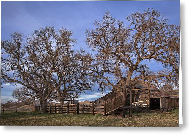 Cripple Creek Barn Greeting Card