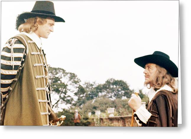Cromwell  Greeting Card by Silver Screen
