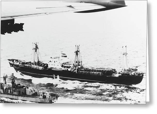 Cuban Missile Crisis Of 1962 Greeting Card