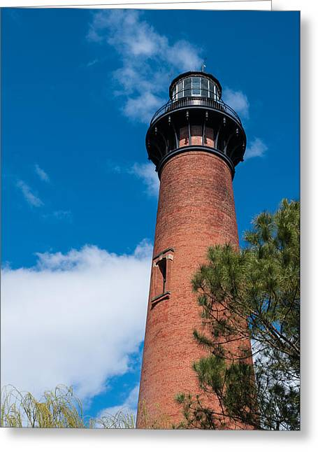 Greeting Card featuring the photograph Currituck Beach Lighthouse by Gregg Southard