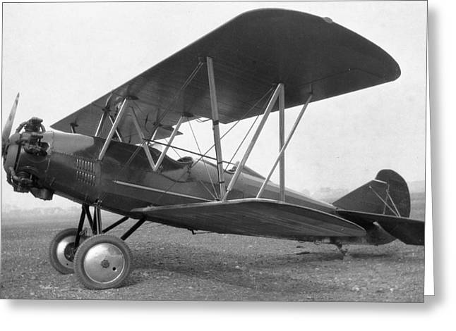Curtiss Travelair J-6 Wright Engine Greeting Card by Hank Clark