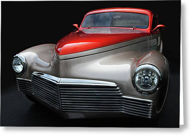 Greeting Card featuring the photograph Custom Car Detail by Dave Mills