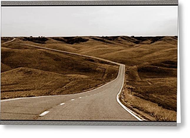 Dakota Highway 1804 Greeting Card