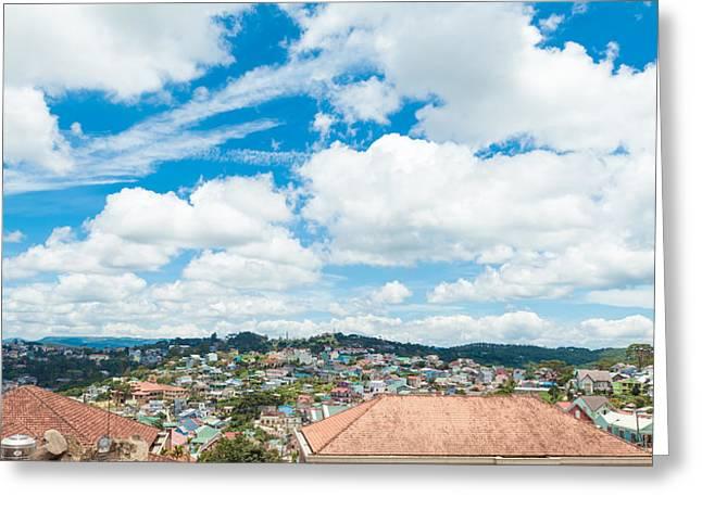 Dalat City View  Greeting Card by Nikita Buida
