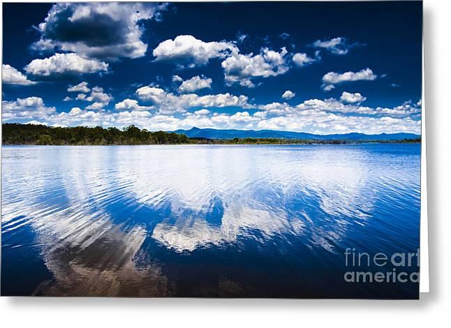 Dam Beautiful Greeting Card by Jorgo Photography - Wall Art Gallery
