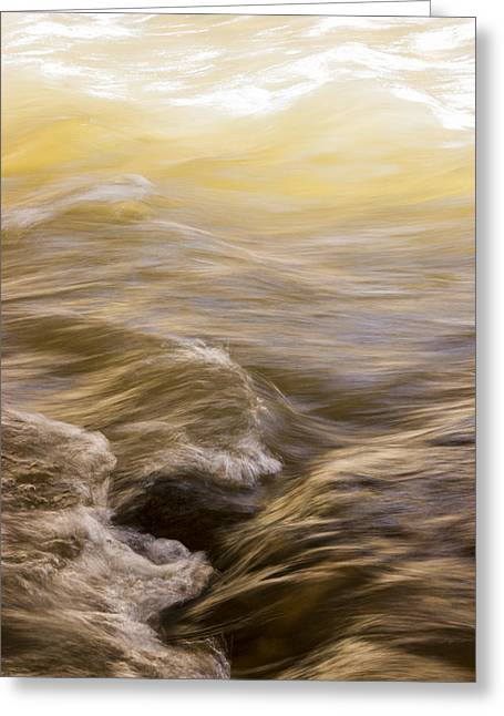 Dance Of Water And Light Greeting Card