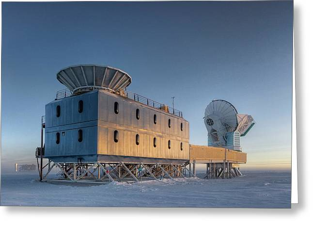 Dark Sector Lab Telescopes Greeting Card by Nsf/steffen Richter/harvard University
