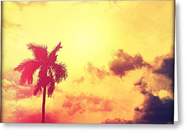 Darkness Moving In Greeting Card by Chris Andruskiewicz
