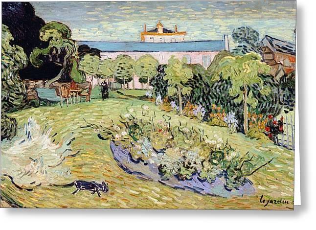 Daubigny's Garden Greeting Card
