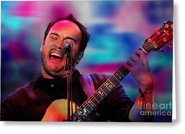 Dave Matthews Greeting Card