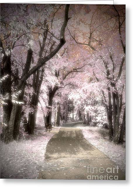 Day Dreams In Pink Greeting Card