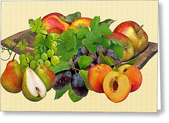 Day Fruits Greeting Card