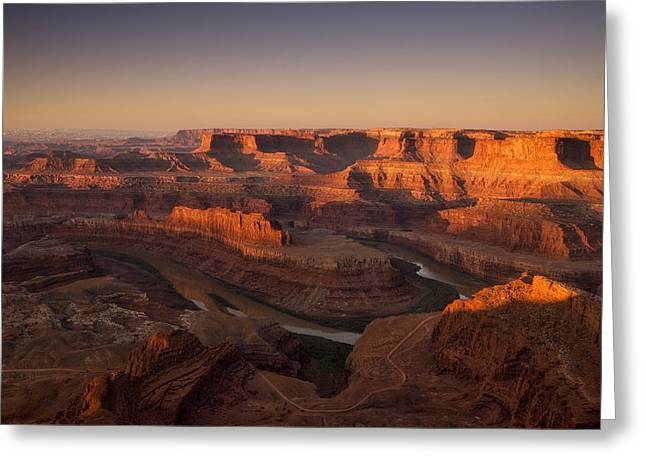 Dead Horse Point Morning Greeting Card by Andrew Soundarajan