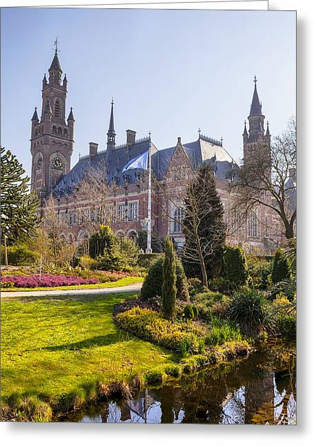 Den Haag Greeting Card by Joana Kruse