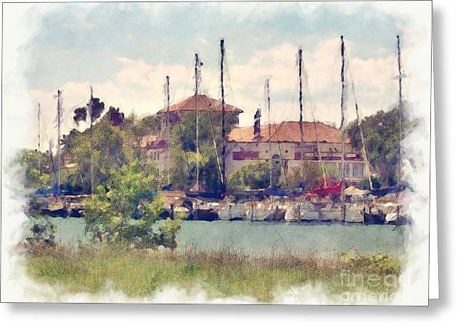 Detroit Yacht Club Greeting Card