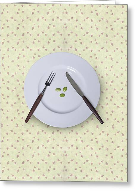 Diet Greeting Card