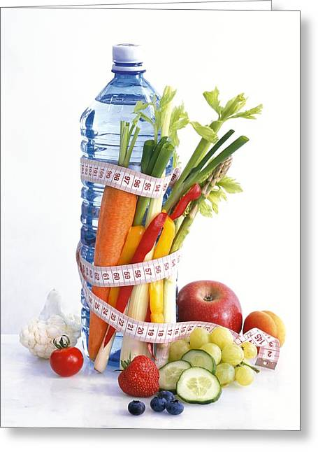 Dieting, Conceptual Image Greeting Card by Science Photo Library