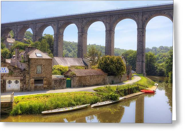 Dinan - Brittany Greeting Card by Joana Kruse