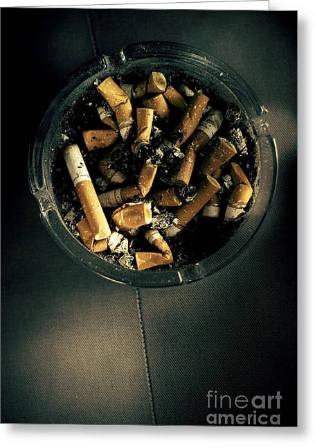 Dirty Habit Greeting Card by Jorgo Photography - Wall Art Gallery