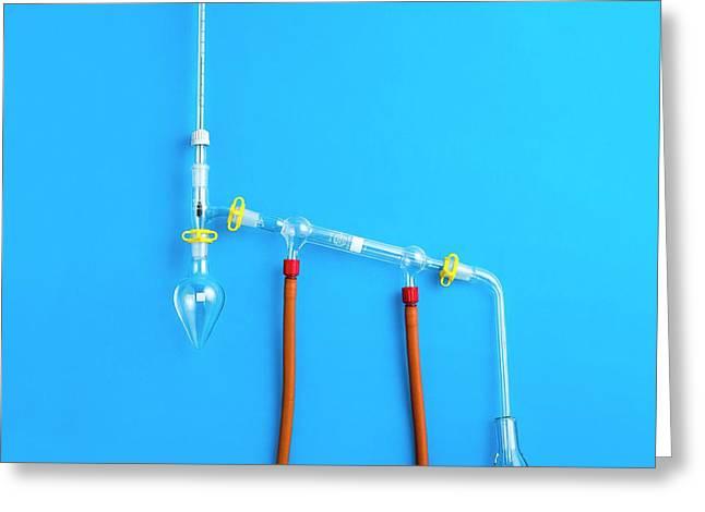 Distillation Apparatus Greeting Card