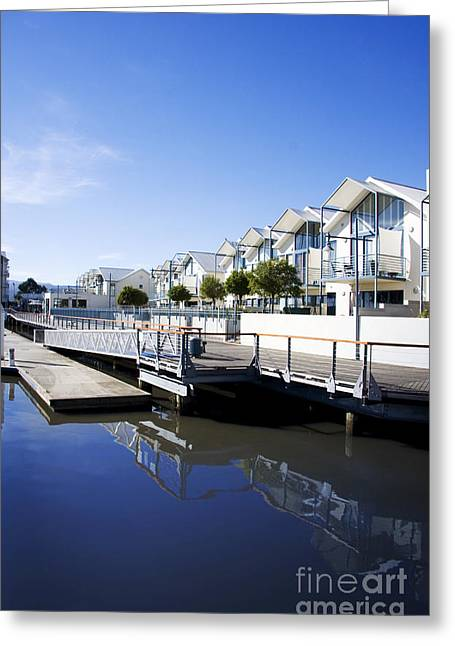 Dockside Apartments Greeting Card