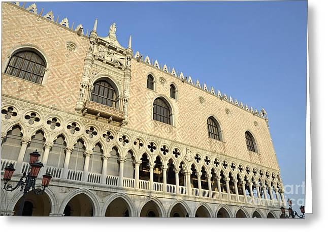 Doges Palace Greeting Card