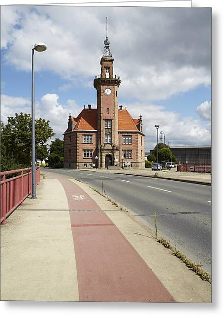 Dortmund - Old Port Authority Greeting Card by Olaf Schulz