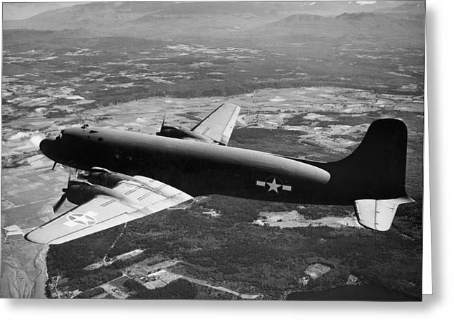 Douglas Skymaster C-54 Greeting Card