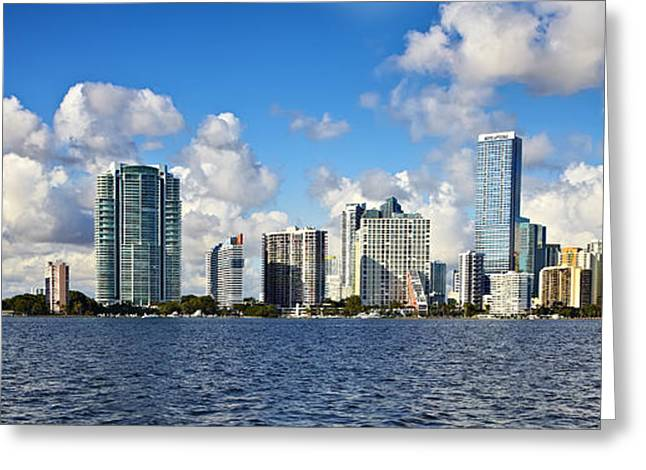 Downtown Miami  Greeting Card by Eyzen M Kim