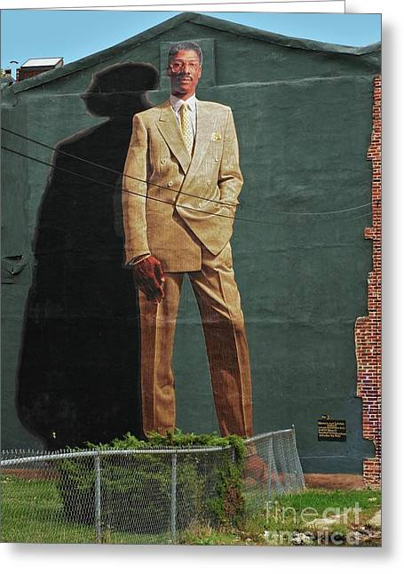 Dr. J. Greeting Card by Allen Beatty