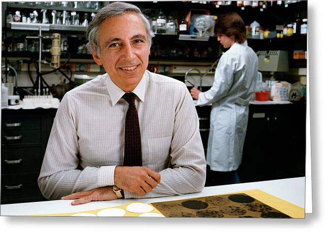 Dr. Robert Gallo Greeting Card