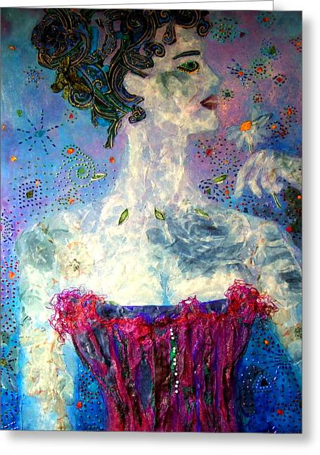 Dreaming Greeting Card by Diane Fine
