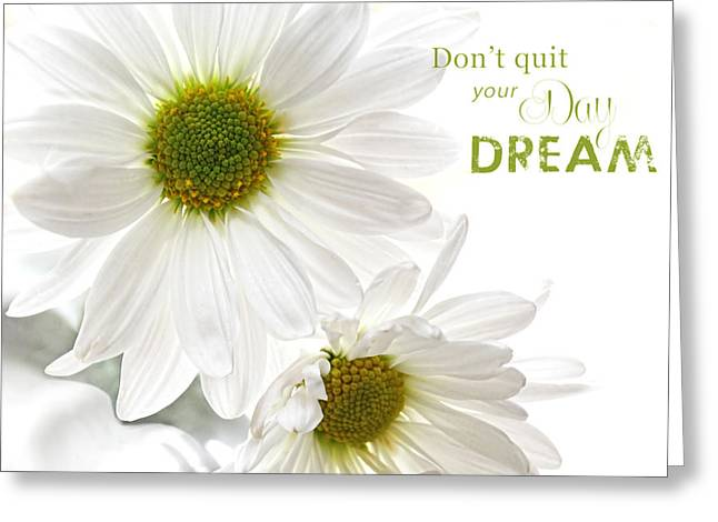 Dreams With Message Greeting Card