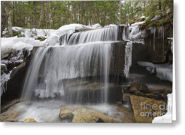 Brook - White Mountains New Hampshire Greeting Card by Erin Paul Donovan