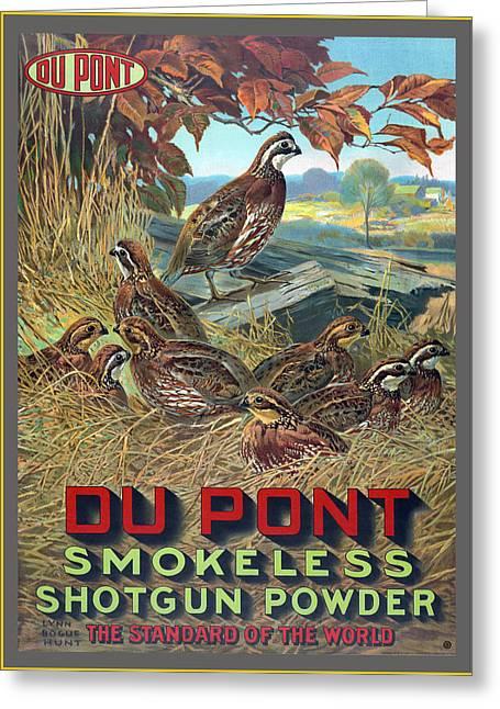 Du Pont Smokeless Greeting Card
