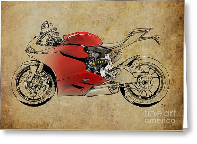 Ducati 1199 Panigale R Wsbk 2013 Greeting Card