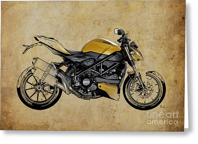 Ducati Streetfighter 848 2012 Greeting Card by Pablo Franchi