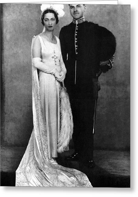 Duchess Of Windsor (1896-1986) Greeting Card