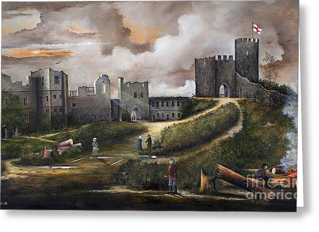Dudley Castle 2 Greeting Card