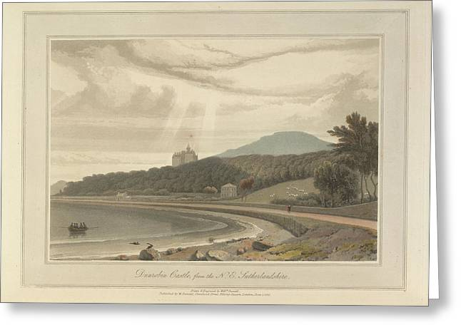 Dunrobin Castle In Sutherland Greeting Card by British Library