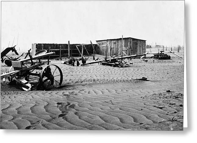 Dust Bowl, C1936 Greeting Card by Granger