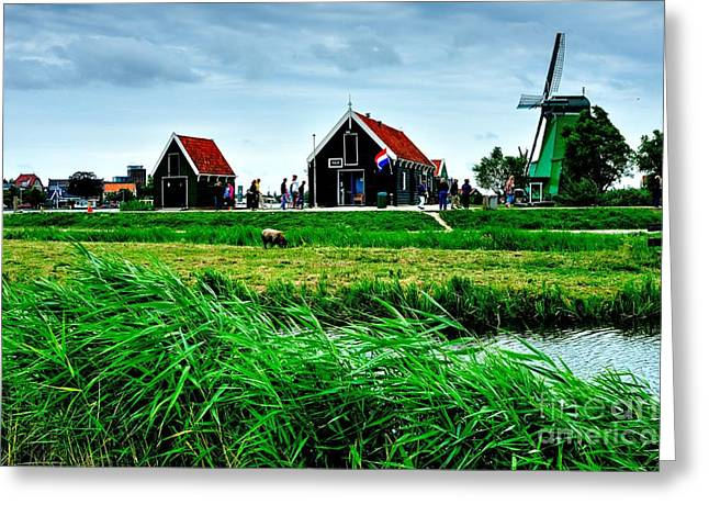 Greeting Card featuring the photograph Dutch Village by Joe  Ng