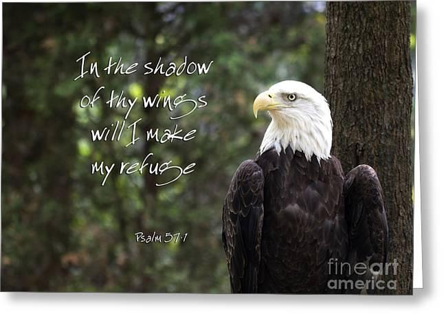Eagle Scripture Greeting Card