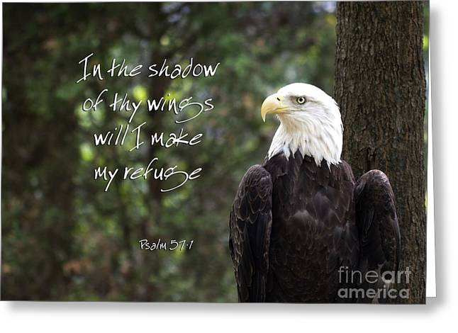 Eagle Scripture Greeting Card