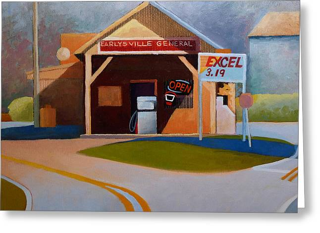 Earlysville General Store No. 2 Greeting Card by Catherine Twomey